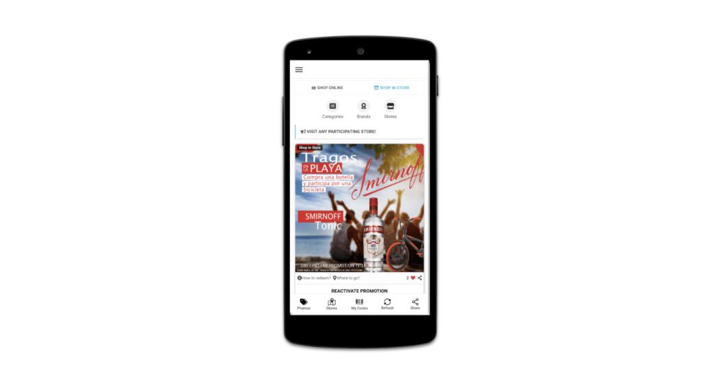 Captura de imágen de App Promociones Social Ads